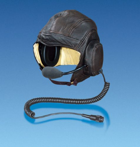 LEATHER HELMET FOR AVIATORS